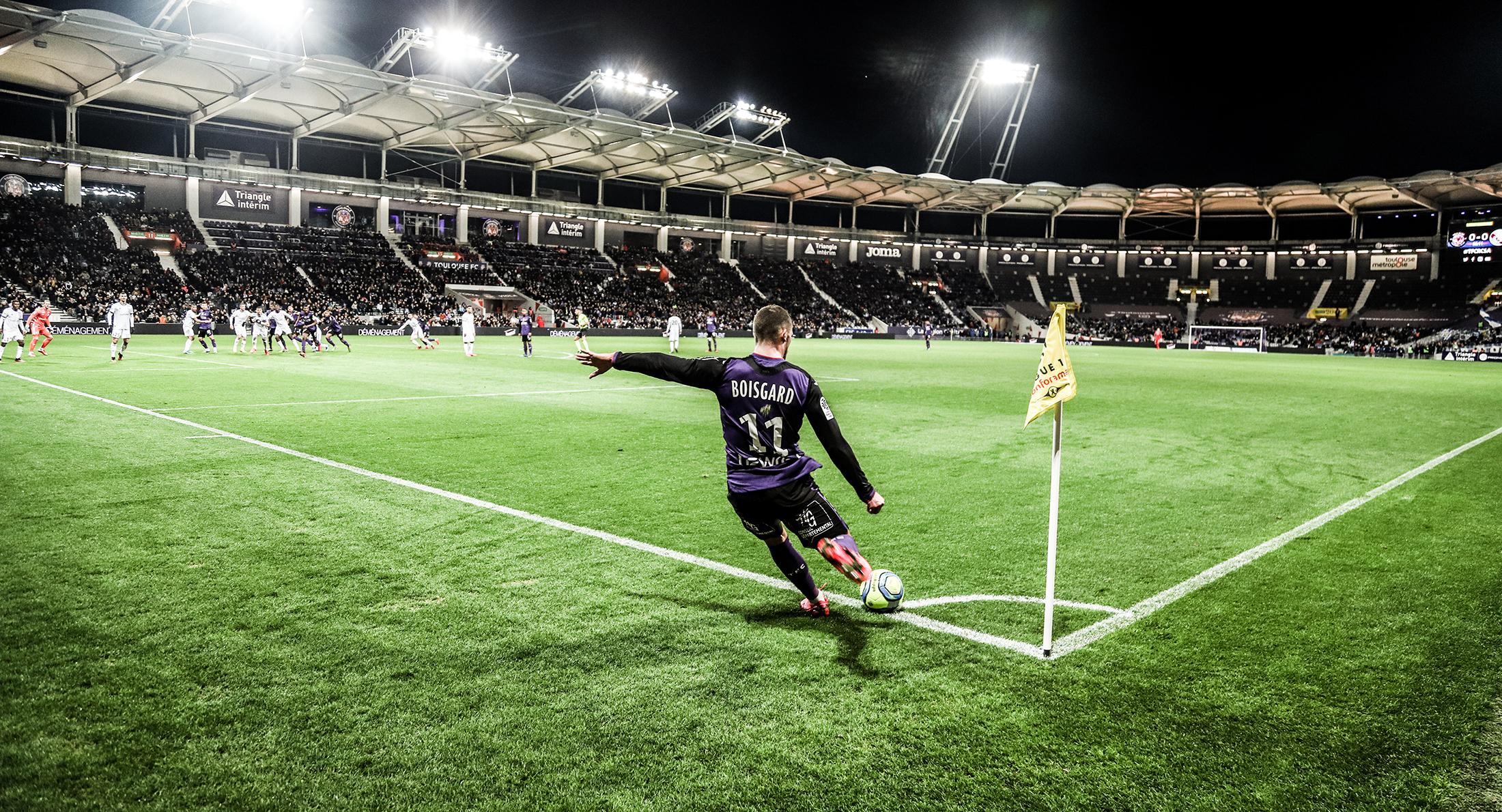 Le groupe toulousain pour TFC/Rennes