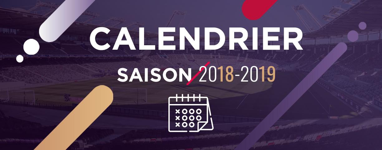"""Résultat de recherche d'images pour """"calendriers saison 2018-2019 foot"""""""