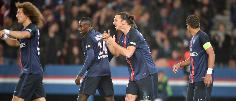 Le groupe du PSG - Toulouse FC